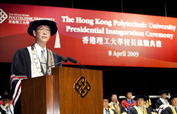 Professor Timothy W. Tong took office
